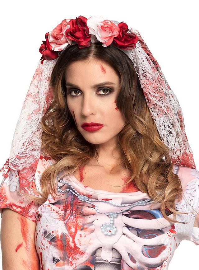 Voile de mariée sanglant