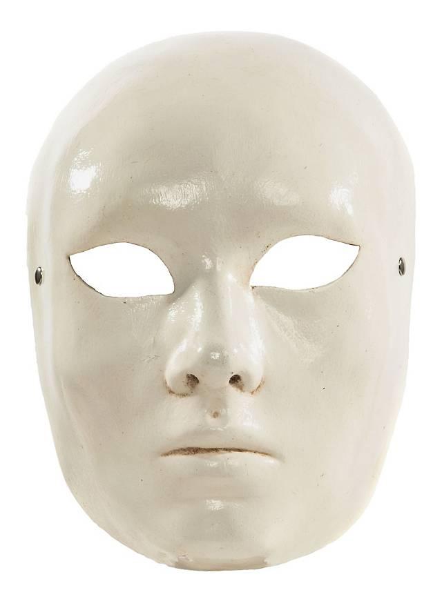 Volto bianco Femminile Masque vénitien