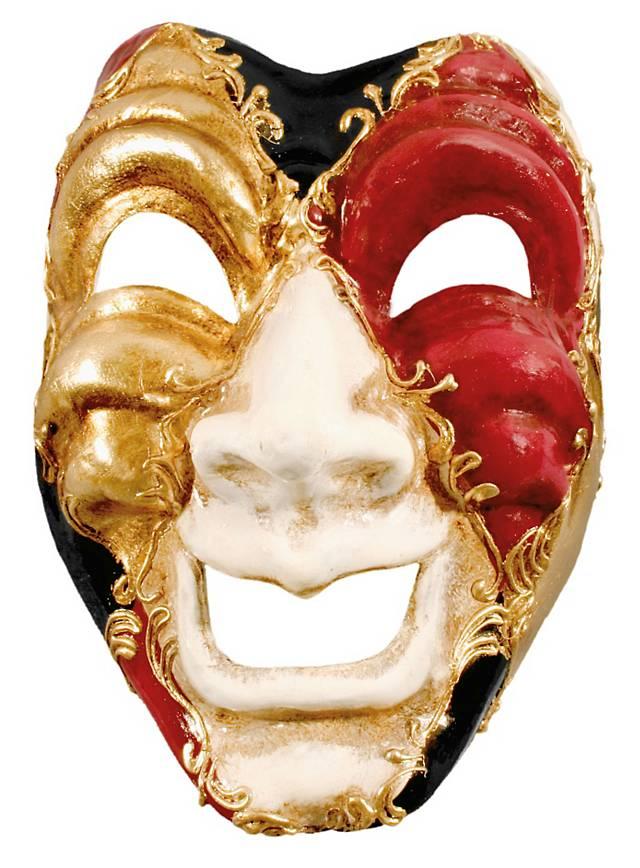 Volto ridi colore - Venezianische Maske