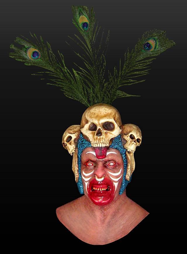 Voodoo Priest Mask - maskworld com