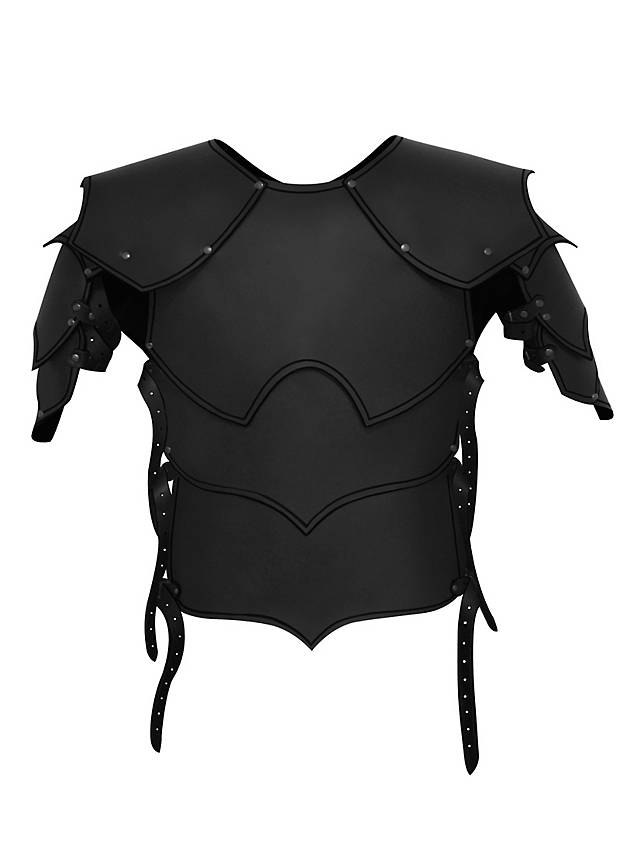 Real Magic Wands Leather armor - Warlor...