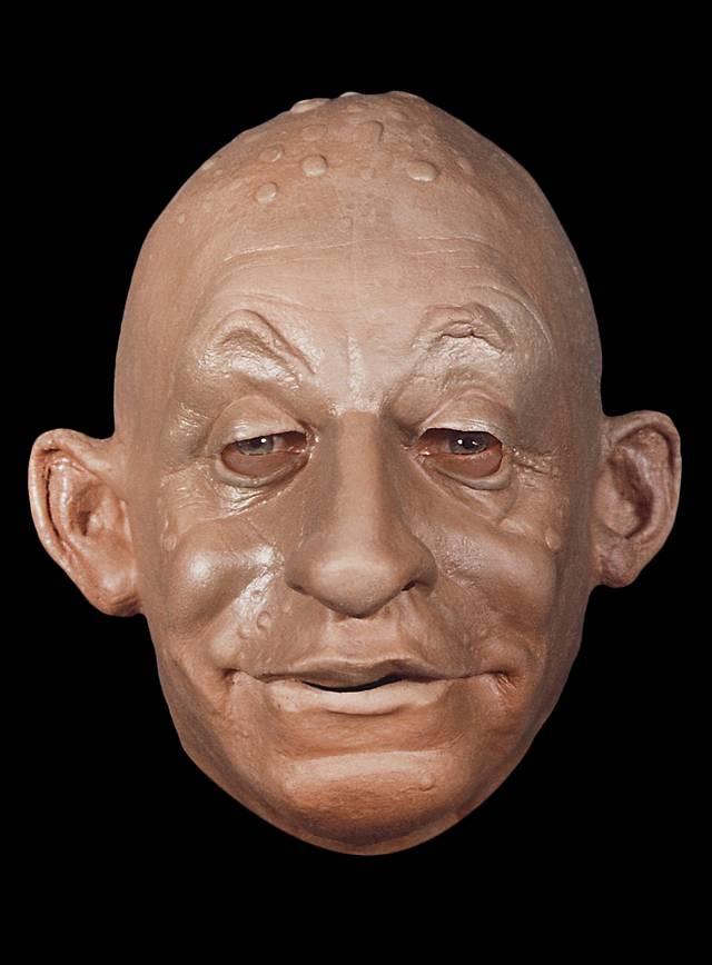 Wassermann Maske aus Schaumlatex