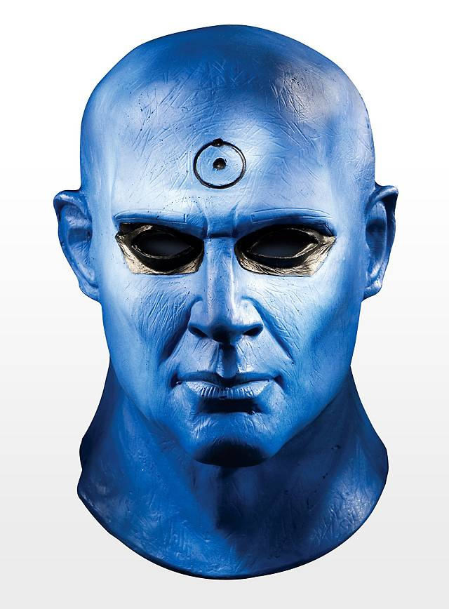 Watchmen Dr. Manhattan Maske aus Latex