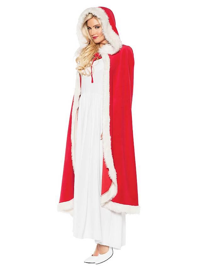 Weihnachtsmantel rot-weiß. Weihnachtsmann Kostüm ▻ maskworld.com ...