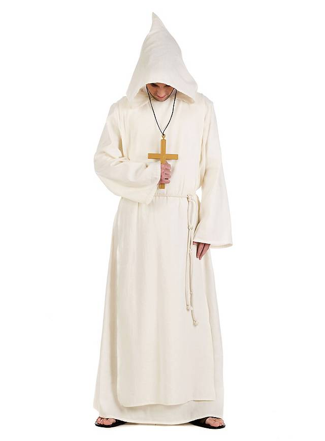 Weißer Mönch Kostüm