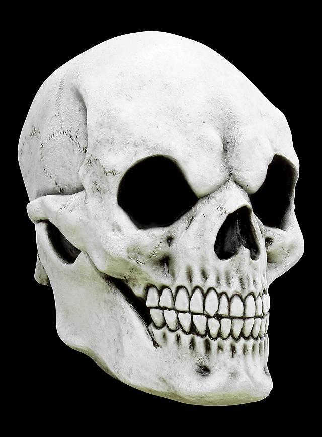 Weißer Schädel Maske des Grauens