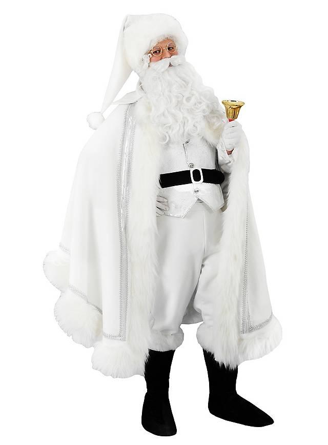 Weißer Weihnachtsmann Kostüm