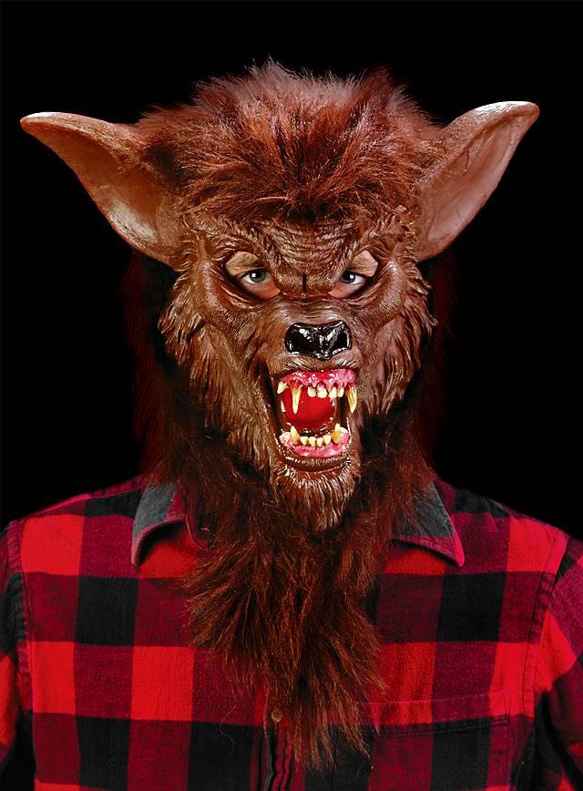 Werwolf braun Maske