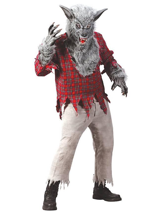 Werwolf grau Kostüm