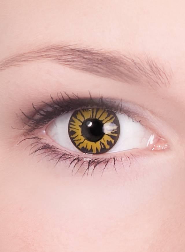 Werwolf Spezialeffekt Kontaktlinse