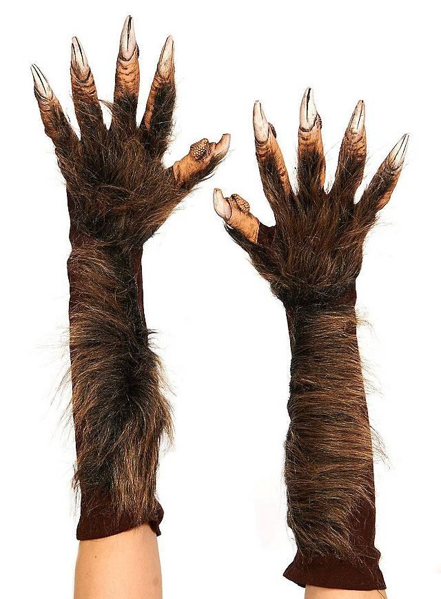Werwolfhände aus Latex