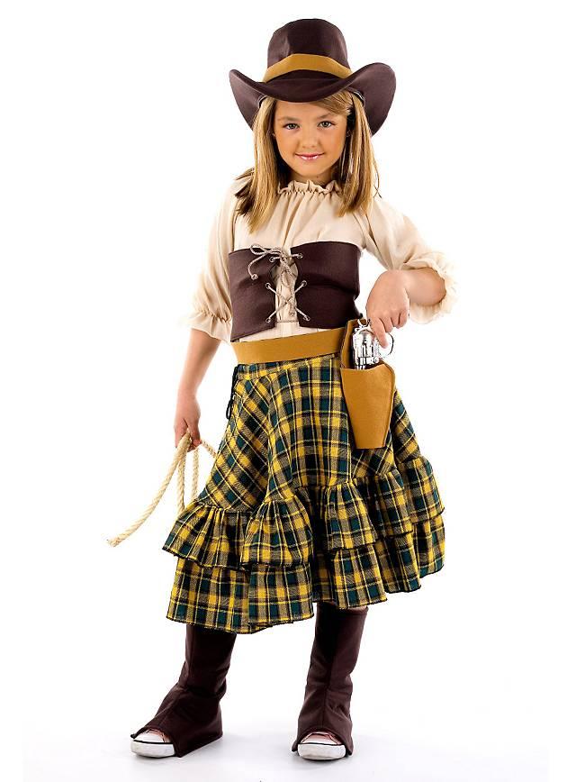 Cowgirl hut kinder