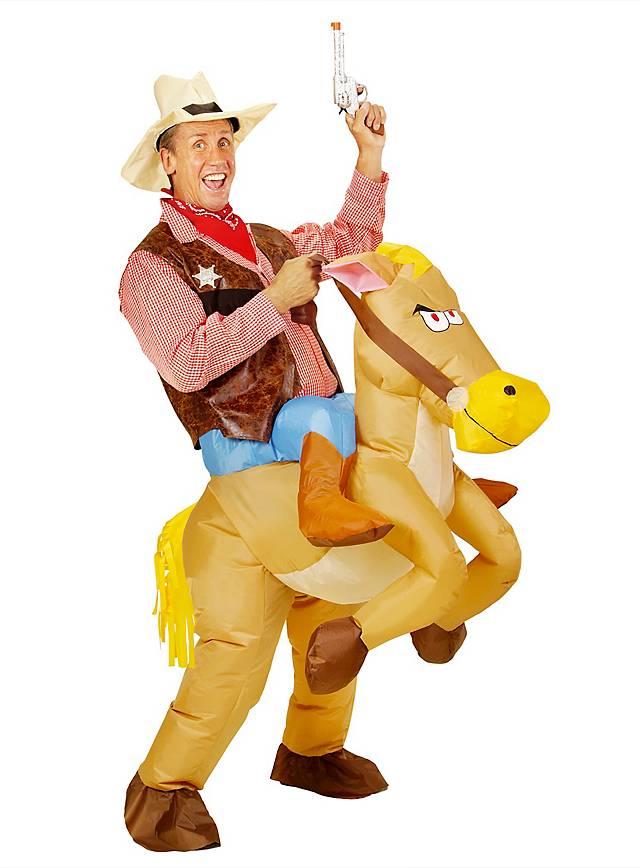 Wildes Pferd Aufblasbares Kostüm