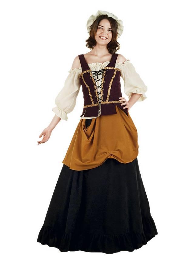 wirtin kostuem mittelalter verkleidung fuer damen