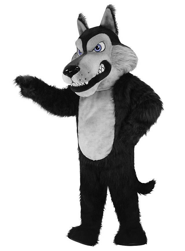 Wölfi Maskottchen