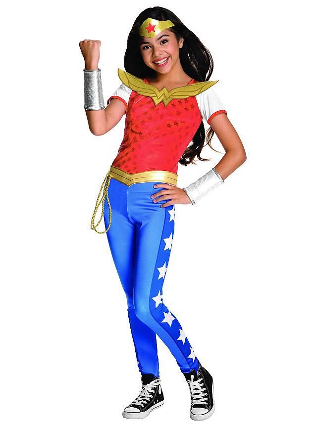 Wonder Woman Deluxe Kostüm für Kinder