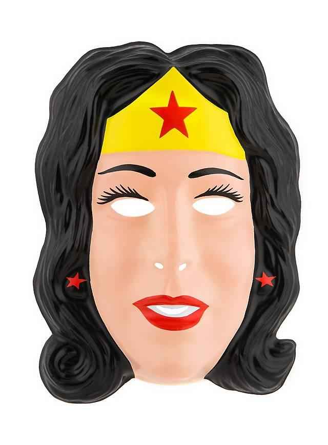 Wonderwoman PVC Kindermaske
