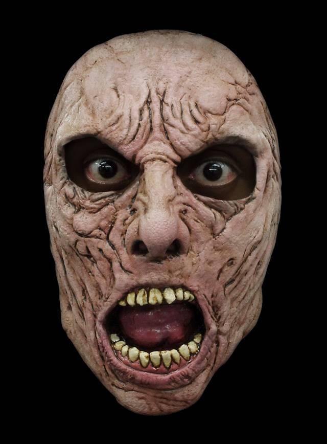 World War Z Wissenschaftler Zombie Halbmaske aus Latex
