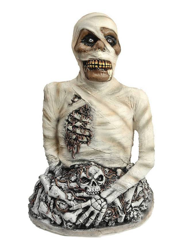 Wormy Mummy Halloween Decoration