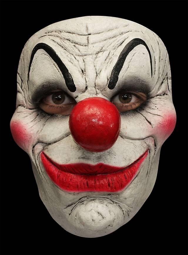 Spielraum Sonderangebot klassischer Chic Wulstiger Clown Maske des Grauens