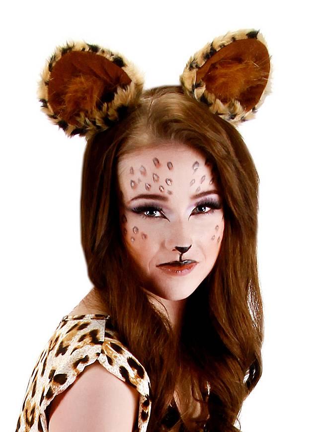 Kostüm Ohren Leopard