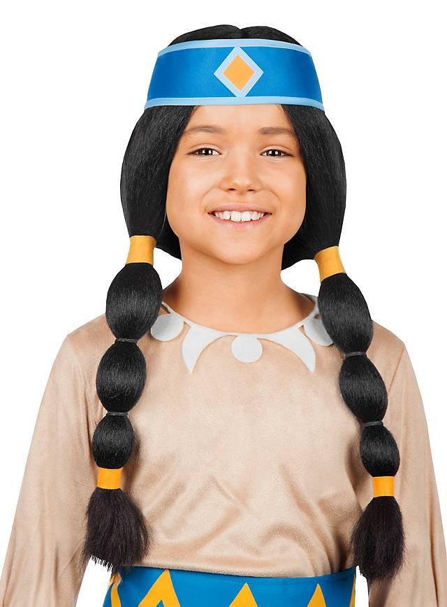 Yakari rainbow kid's wig