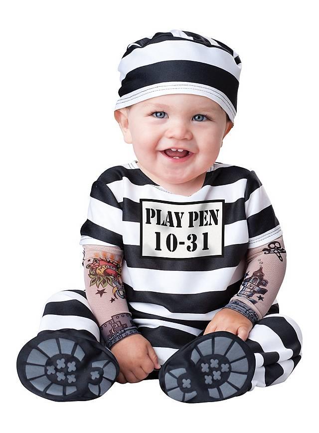Young Jailbird Baby Costume