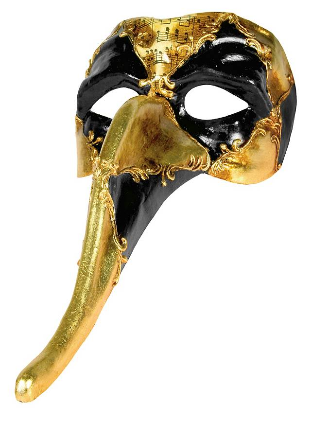 Zanni Occhi Cuoio Musica Venetian Mask Maskworld Com