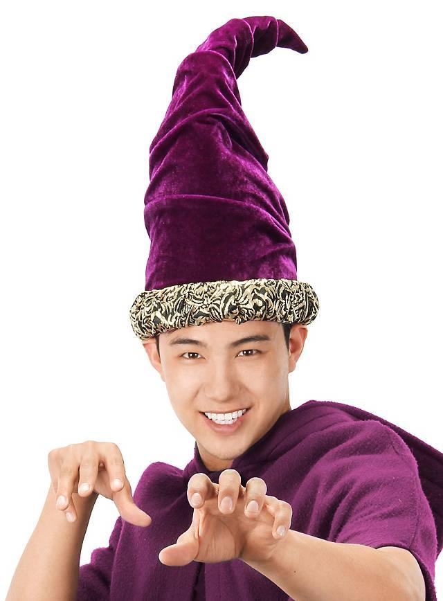 Zauberer Hut lila