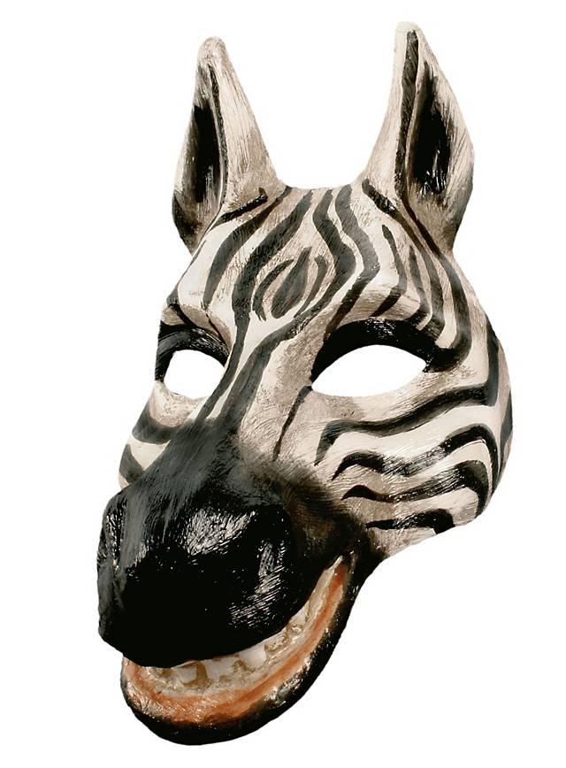 Zebra - Venezianische Maske