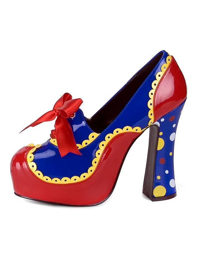 Zirkus Clownesse Schuhe