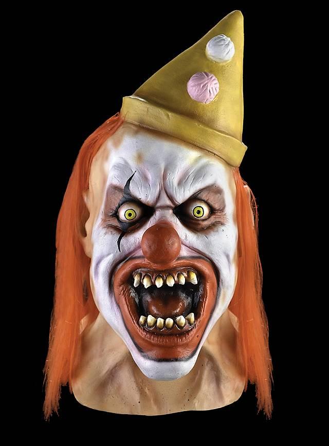 Zirkus Horrorclown Maske