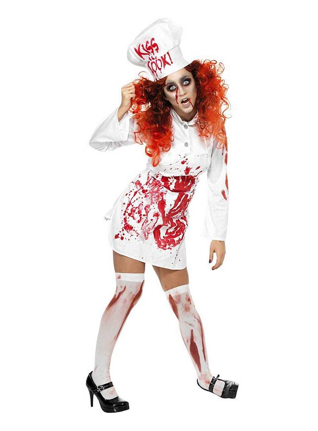 Zombie French Chef Costume Maskworld Com