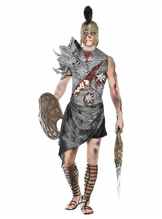 Zombie Gladiator Costume  sc 1 st  Maskworld : real gladiator costume  - Germanpascual.Com