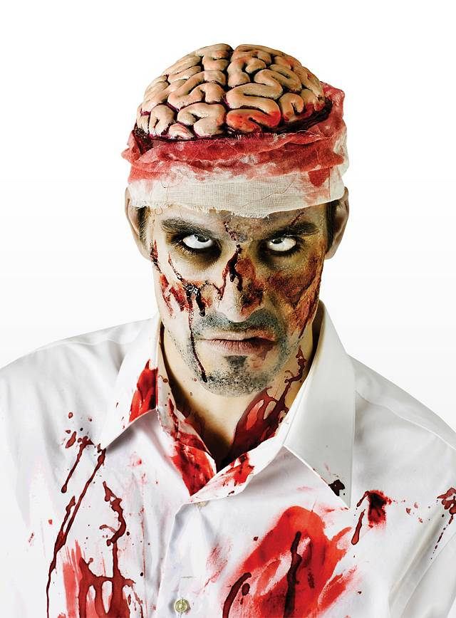 Zombie-Hirn Kostümteil