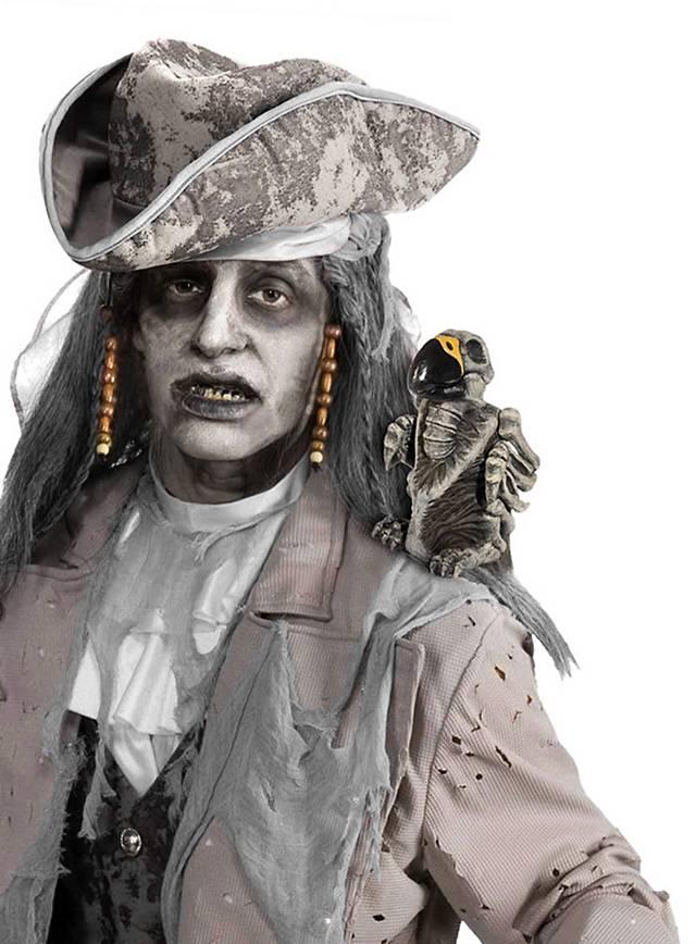 Zombie Parrot Halloween Decoration