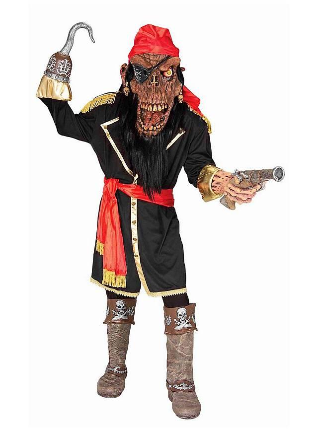 zombie pirate captain costume. Black Bedroom Furniture Sets. Home Design Ideas