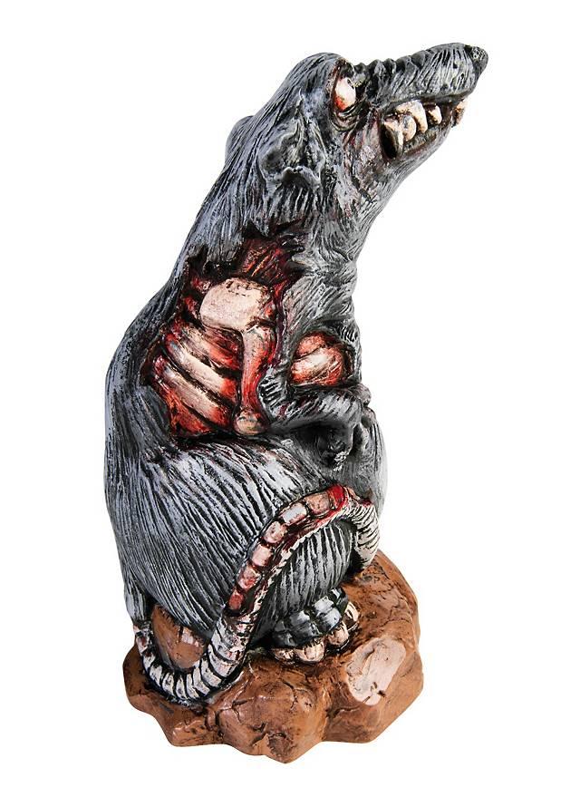 Zombie Ratte Halloween Deko