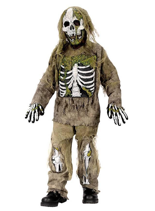 Zombie Skelett Kinderkostüm