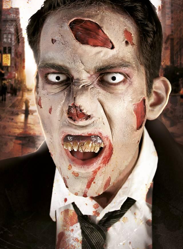 Zombienase Latexapplikation