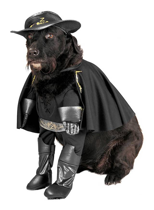 836ceec8c99 Zorro Dog Costume - maskworld.com