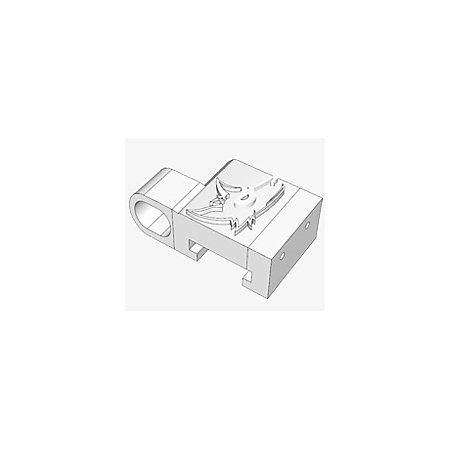 Slydev Nerf Tactical Rail Clip Adapter Schwarz Blasterparts Com