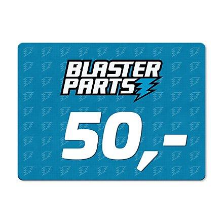 Blasterparts Geschenkgutschein 50,- €
