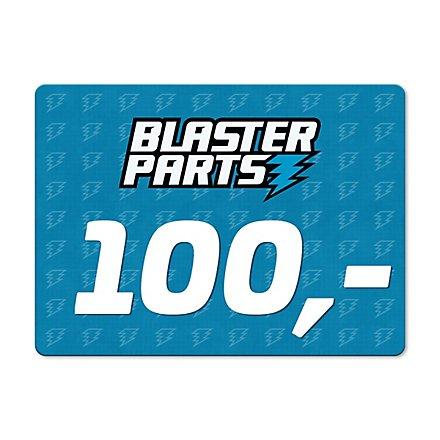 Blasterparts Gift Voucher 100,- €