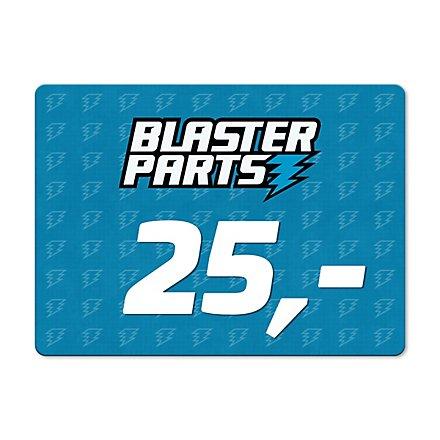 Blasterparts Gift Voucher 25,- €