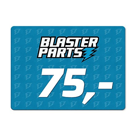 Blasterparts Gift Voucher 75,- €