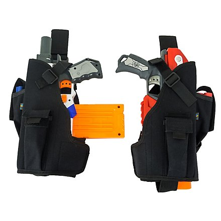 Blasterparts Multi Holster MX- suitable for Nerf Blasters (left) - black