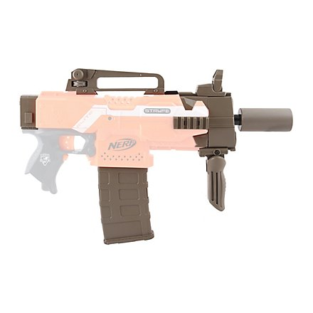 Blasterparts - SMG-Kit 2: Silencer Gun, olive