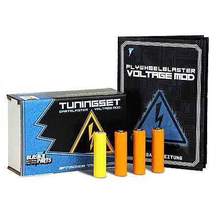Blasterparts - Voltage-Set für Nerf Rebelle Rapid Red