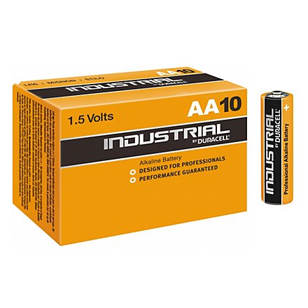 Duracell Industrial - Heavy Duty AA-Batterie, 10er Box